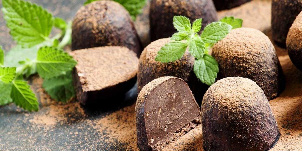 comida feliz - chocolate