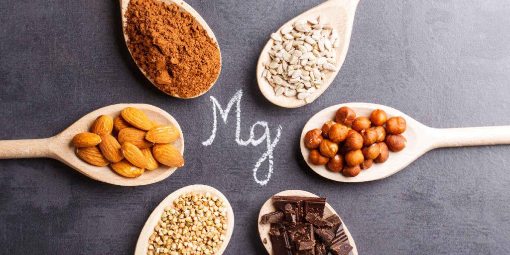 diferentes fuentes de magnesio
